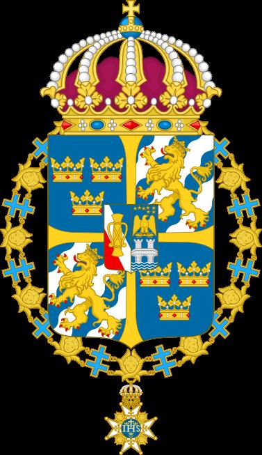 Малый герб Швеции