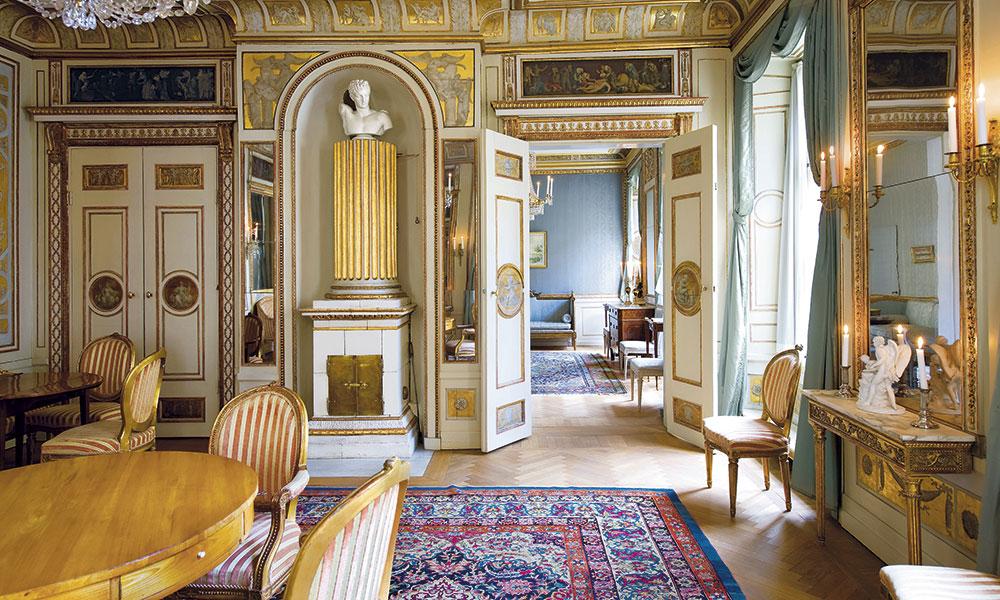 Мебель в стиле неоклассицизма (Густавианский период)