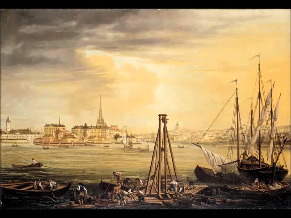 Стокгольм XVIII век