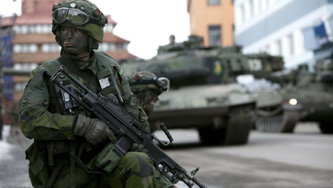 Шведские вооруженные силы