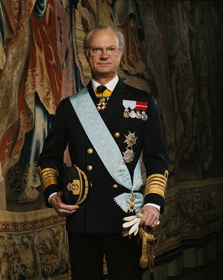 Король Карл XVI Густав
