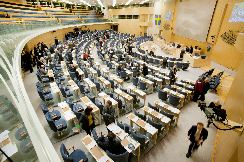 Шведский Парламент (Риксдаг)