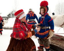 Саамы в Северной Швеции