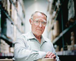 Ингвар Кампрад, основатель IKEA