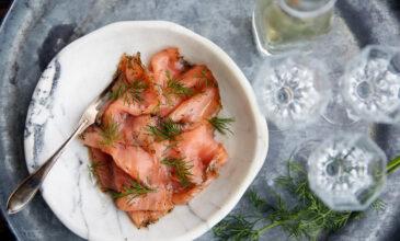 Рецепт вяленого лосося также известного как гравлакс