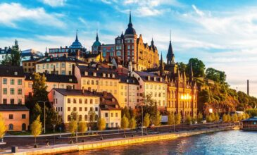 Стокгольм — столица Швеции